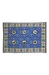 Кашемировая шаль «Византийский бестиарий» Gourji