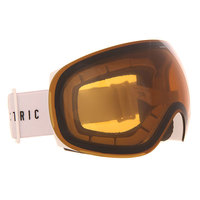 Маска для сноуборда Electric Eg3 Gloss White/Bronze