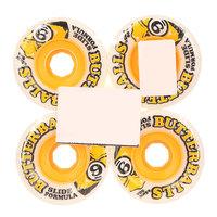 Колеса для скейтборда для лонгборда Sector 9 Rad Butterballs White 80A 65 mm