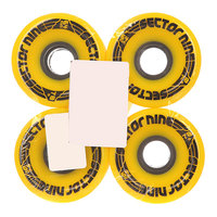Колеса для скейтборда для лонгборда Sector 9 Omega Wheel Assorted 78A 64 mm