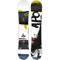 Сноуборд Apo Line Rocker 159 White/Black