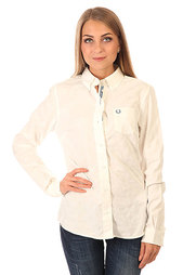 Рубашка женская Fred Perry Tonal Dot Tipped Shirt White