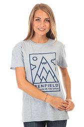 Футболка женская Penfield Peaks T Shirt Sky