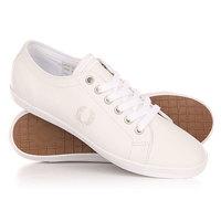 Кеды кроссовки низкие Fred Perry Kingston Leather White