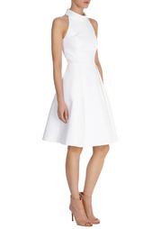 Платье из хлопка Karen Millen