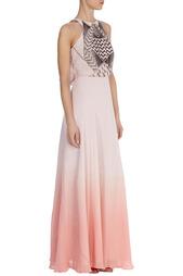 Шелковое платье макси Karen Millen