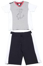 Костюм: шорты, футболка Armani Junior