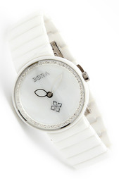 Керамические часы с футляром BORA