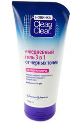 Гель 3 в 1 от черных точек CLEAN&CLEAR Clean&;Clear