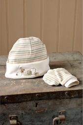 Комплект: шапочка, варежки NATURES PUREST