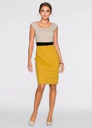Платье (золотисто-коричневый/светло-ко) Bonprix