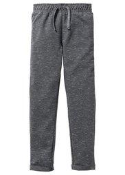 Меланжевые трикотажные брюки, Размеры  116-170 (нежно-розовый/антрацитовый мел) Bonprix