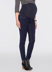 Мода для беременных: джинсы Skinny (темный деним) Bonprix