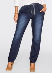Спортивные джинсы, cредний рост (N) (темно-синий) Bonprix