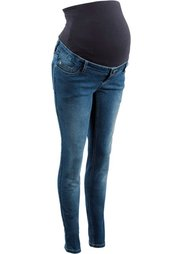 Мода для будущих мам: джинсы Skinny (темный деним) Bonprix