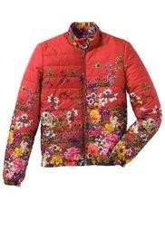 Куртка-блузон (синий в цветочек) Bonprix