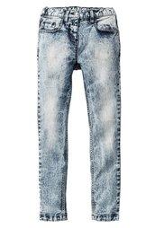 Джинсы Skinny с высокой талией, Размеры  116-170 (серый деним) Bonprix