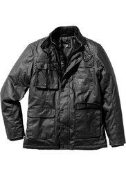 Куртка Regular Fit с вощеным покрытием (темно-оливковый) Bonprix