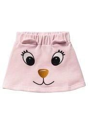 Трикотажная юбка с аппликацией, Размеры  80/86-128/134 (нежно-розовый) Bonprix