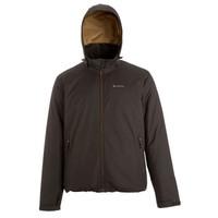 Куртка Arpenaz 100 Rain Warm Мужская Коричневая Quechua