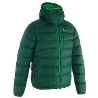Пуховик Forclaz 900 Topwarm Мужской Темно-зеленый Quechua
