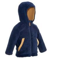 Толстовка Forclaz 500 Warm Для Малышей Темно-синяя Quechua