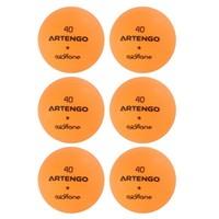 Мячи Для Пинг-понга Fb800 X6 Artengo
