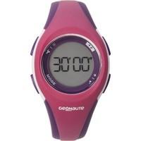 Часы С Таймером Для Занятий Спортом W200 S, Жен./дет., Розовые И Фиолетовые. Geonaute