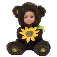 Кукла Медвежонок с цветочком, Anna De Wailly -