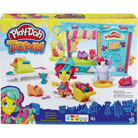 """Игровой набор """"Магазинчик домашних питомцев"""", Play-Doh  Город Hasbro"""