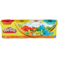 Пластилин в 4-х банках, #3, Play-Doh Hasbro