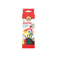 "Цветные карандаши ""Mona Lisa"", 6 цв., KOH-I-NOOR"