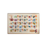 Настольный коврик-подкладка для письма с английским алфавитом