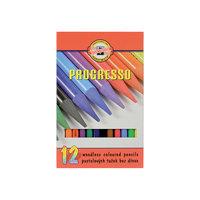 "Цветные карандаши ""Progresso"", 12 цв., KOH-I-NOOR"