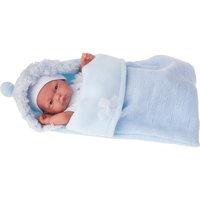 Кукла-младенец Карлос в конверте, голубой, 26 см, Munecas Antonio Juan