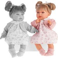Кукла Лорена в розовом, 37см, Munecas Antonio Juan