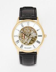Часы с кожаным ремешком Sekonda 3426.27 - Черный