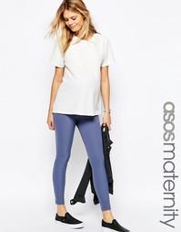 Эластичные зауженные брюки для беременных ASOS Maternity - Черный
