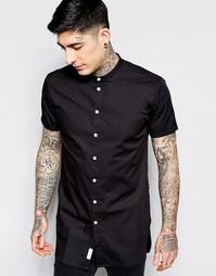 Рубашка с короткими рукавами и контрастными пуговицами Minimum