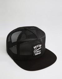 Сетчатая бейсболка Brixton Dunhill - Черный