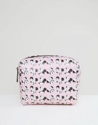 Косметичка с Минни Маус ASOS Disney - Розовый