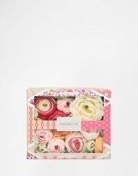 Мыло в форме цветов Vintage & Co - Ткань и цветы Beauty Extras