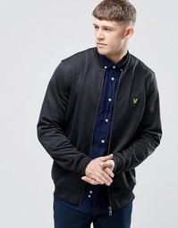 Черная спортивная куртка-пилот Lyle & Scott - Классический черный