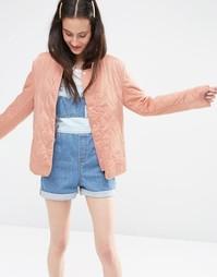 Стеганая куртка ASOS - Розовый