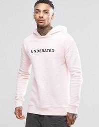 Худи Underated - Розовый