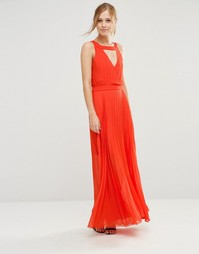 Платье макси с вырезом сзади Jovonna Sonoma - Оранжевый