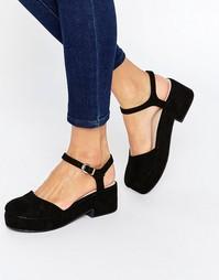 Туфли на платформе ASOS OPAL - Черный
