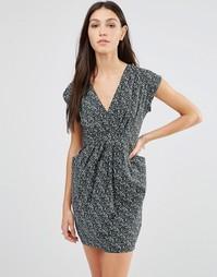Платье с мелким принтом Traffic People - Черный