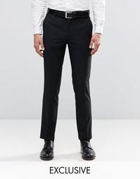 Зауженные брюки под смокинг Farah - Черный