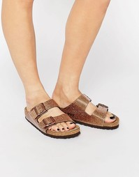 Сандалии Birkenstock Arizona Magic Galaxy Bronze - Bronze